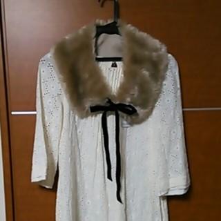 セシルマクビー(CECIL McBEE)のフェイクファーの付け襟*新品(つけ襟)