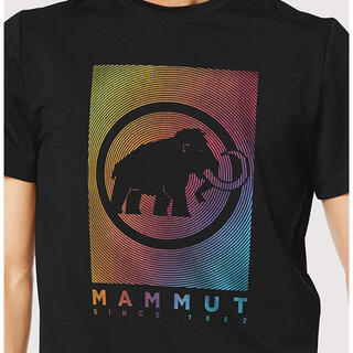 マムート(Mammut)のマムート トロバットTシャツ Lサイズ(ブラック)(登山用品)