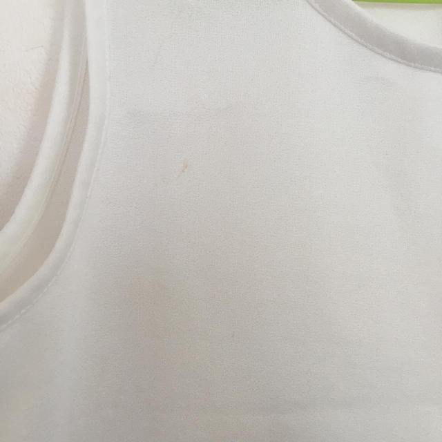 白タンクトップ☆ レディースのトップス(タンクトップ)の商品写真