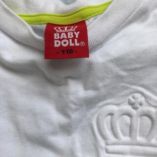 ベビードール(BABYDOLL)のキッズ(Tシャツ/カットソー)