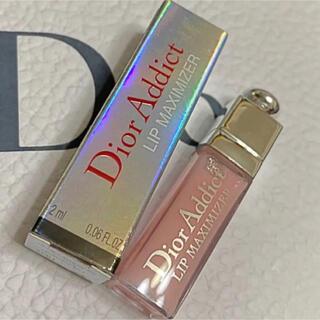 Christian Dior - ディオール アディクト リップ マキシマイザー 001 ミニグロス 箱付き