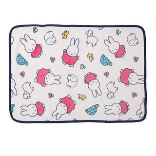 【新品・未使用】西川リビング ミッフィー 軽量 毛布 ひざかけ(毛布)