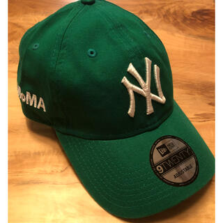 THE NORTH FACE - 新品 US限定 MOMA x Yankees New Era Cap グリーン