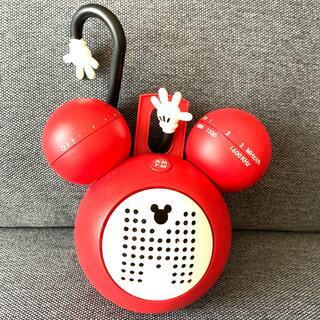 ミッキーマウス(ミッキーマウス)の【美品】ミッキーマウス ラジオ 防滴仕様 乾電池つき(ラジオ)