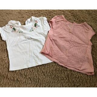 ザラ(ZARA)のZARA Tシャツ♡2枚セット♡86(Tシャツ)