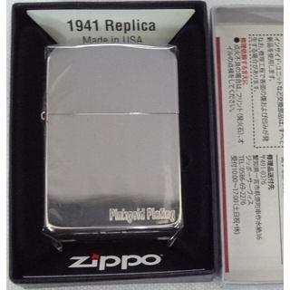 ジッポー(ZIPPO)の新品 ZIPPO 1941年復刻レプリカ 1941-PG 定価8800円(タバコグッズ)