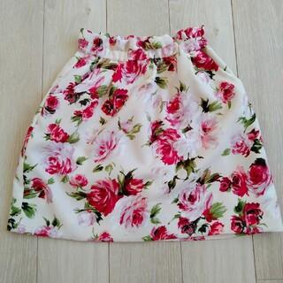 PROPORTION - プロポーション花柄スカート