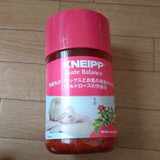 Kneipp - クナイプ グーテバランス  バスソルト ワイルドローズの香り