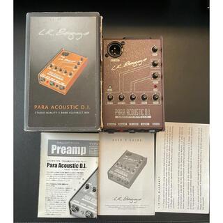 【ほぼ新品】Para Acoustic D.I  L.R Baggs パラアコ(エフェクター)