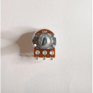 ALPHA 5KC ボリューム/可変抵抗 ダストカバー付き φ16 Cカーブ(エフェクター)