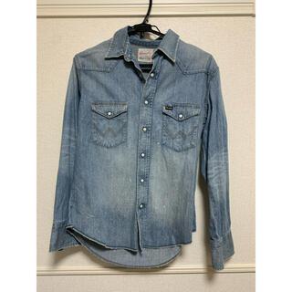 ラングラー(Wrangler)のラングラー メンズ デニムシャツ Mサイズ(シャツ)