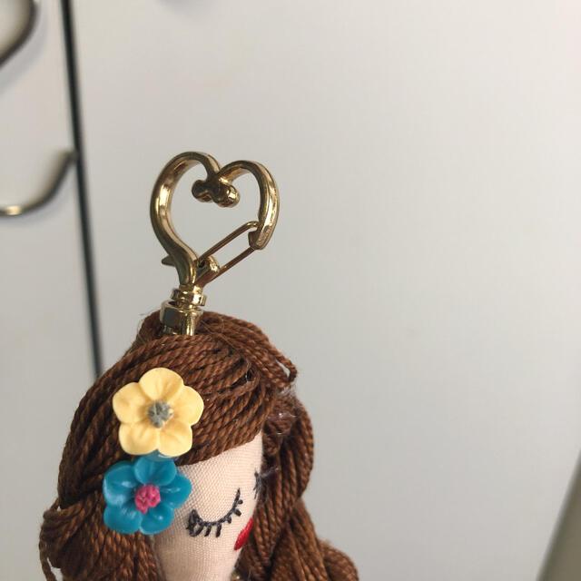ハンドメイドドールチャーム  フラドール ハンドメイドのファッション小物(バッグチャーム)の商品写真