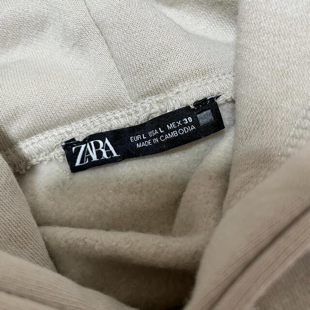 ZARA(ザラ)のZARA フーディ パーカー レディースのトップス(パーカー)の商品写真