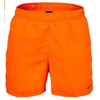 ナイキ(NIKE)のLサイズ Nike(ナイキ)ロゴ スイムショーツ 水着 オレンジ(水着)