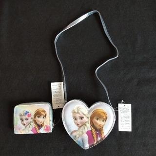 アナトユキノジョオウ(アナと雪の女王)のアナと雪の女王 (エルサ・アナ) ポシェット&お財布  (ポシェット)