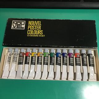 サクラクレパス(サクラクレパス)のNOUVEL ポスターカラー 12色(絵の具/ポスターカラー)
