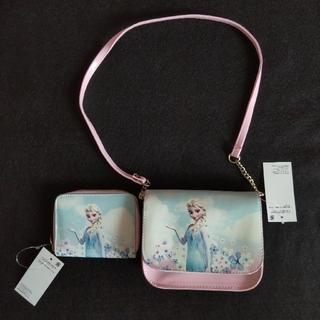 アナトユキノジョオウ(アナと雪の女王)のアナと雪の女王 (エルサ)  ポシェット&お財布(ポシェット)