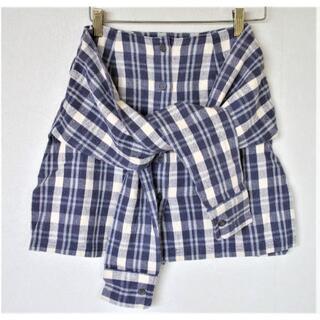 チャコット(CHACOTT)のチャコット チェックスカート 綿100% 日本製(ミニスカート)