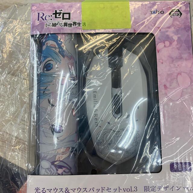 TAITO(タイトー)のRe:ゼロから始める異世界生活マウスのみ スマホ/家電/カメラのPC/タブレット(PC周辺機器)の商品写真