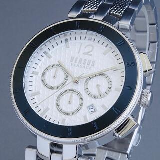 ヴェルサーチ(VERSACE)の【新品即納】ヴェルサス ヴェルサーチ 高級 メンズ腕時計 クロノグラフ 44mm(腕時計(アナログ))
