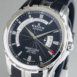 エドックス(EDOX)の定価約50万【新品未使用】エドックス EDOX メンズ腕時計 グランドオーシャン(腕時計(アナログ))