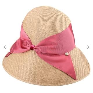 バーニーズニューヨーク(BARNEYS NEW YORK)のathena new york 帽子(麦わら帽子/ストローハット)