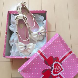 ベイビーザスターズシャインブライト(BABY,THE STARS SHINE BRIGHT)のガラスの靴(ハイヒール/パンプス)
