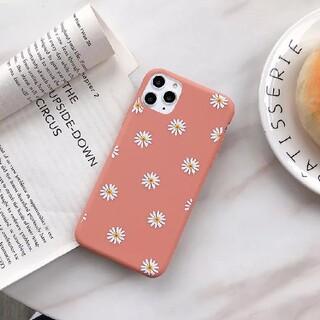 アフタヌーンティー(AfternoonTea)のアイフォン12 アイフォン12プロ ケース サーモンピンク オレンジ(iPhoneケース)