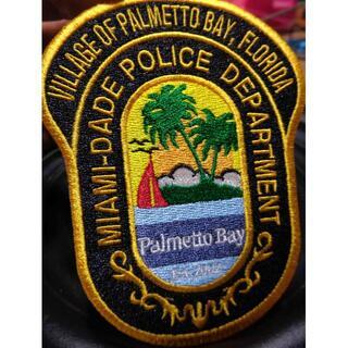 新品Miami-DadePoliceマイアミアメリカポリス警察ワッペン(パッチ)(その他)