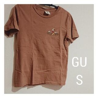 ジーユー(GU)の【USED】GU ミニー ロゴ Tシャツ(Tシャツ(半袖/袖なし))