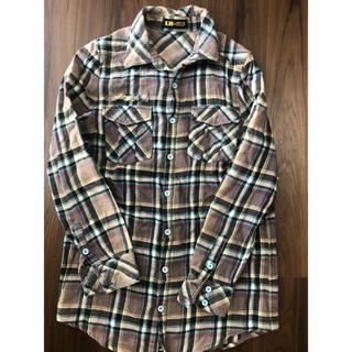エルビーゼロスリー(LB-03)のLB-03 チェックシャツ(シャツ/ブラウス(長袖/七分))