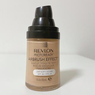 REVLON - 人気 レブロン フォトレディ エアブラシ エフェクト ファンデーション 200