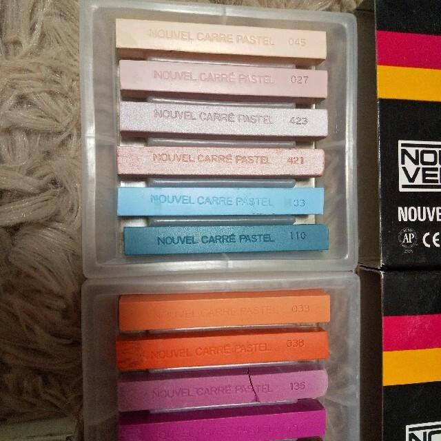 ヌーベル カレーパステル 42色 エンタメ/ホビーのアート用品(クレヨン/パステル)の商品写真