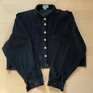 シンゾーン(Shinzone)の古着 リメイクシャツ クロップド ヴィンテージ(シャツ/ブラウス(長袖/七分))