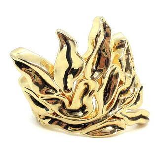 クロエ(Chloe)のクロエ CHLOE バングル 海藻モチーフ S ゴールド色(ブレスレット/バングル)
