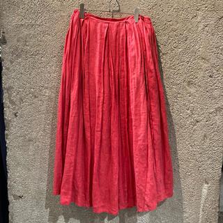 ツルバイマリコオイカワ(TSURU by Mariko Oikawa)のTSURUbyMARIKOOIKAWAリネン巻きスカート(ロングスカート)