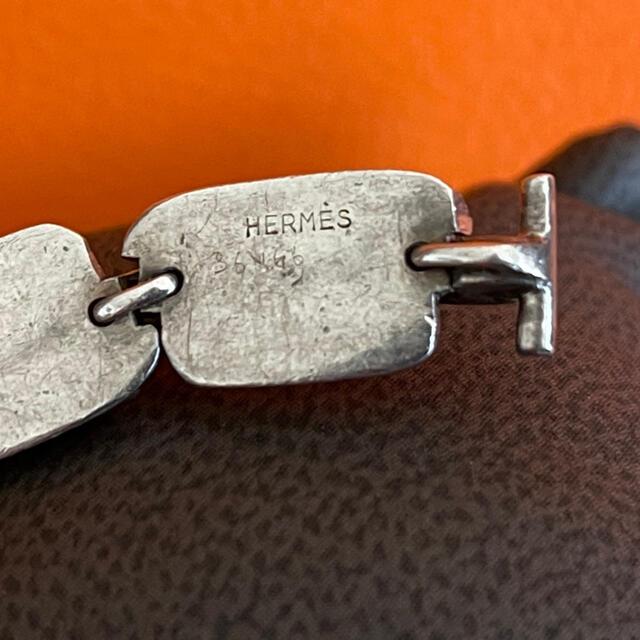 Hermes(エルメス)のHermes エルメス 1960年代 ヴィンテージ ブレスレット メンズのアクセサリー(ブレスレット)の商品写真