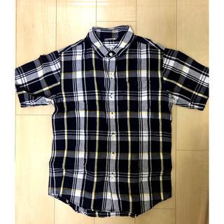 GLOBAL WORK - 半袖シャツ チェックシャツ