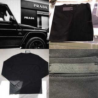プラダ(PRADA)の【PRADA】すぐ届く!大人気のポケットPRADA ロゴ ロンT(Tシャツ/カットソー(七分/長袖))