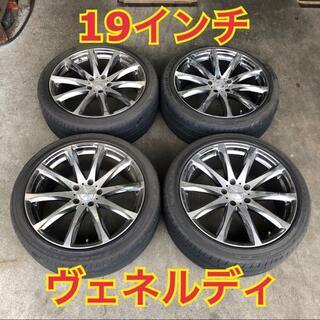Goodyear - 【19インチ】ヴェネルディ ホイール & 245/40R19 タイヤ 4本セット