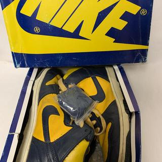 ナイキ(NIKE)の1985年製 ダンク オリジナル Michigan vintage(スニーカー)