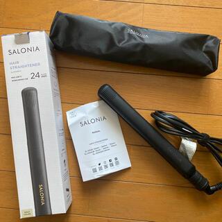 SALONIA ストレートヘアアイロン 24mm(ヘアアイロン)
