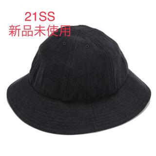 コモリ(COMOLI)の新品 21SS comoli シルクネップハット(ハット)
