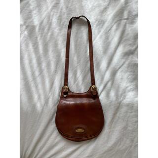 グリモワール(Grimoire)のvintage leather bag(ショルダーバッグ)