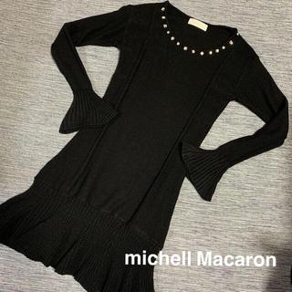ミシェルマカロン(michellMacaron)のmichell Macaron ワンピース (ひざ丈ワンピース)