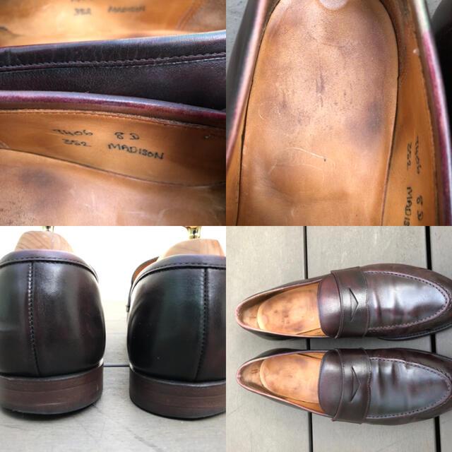 Crockett&Jones(クロケットアンドジョーンズ)のクロケット&ジョーンズ ローファー(for Ed Meier) UK8 メンズの靴/シューズ(ドレス/ビジネス)の商品写真