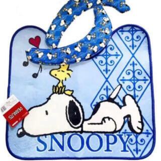 SNOOPY - 新品!2点セット!スヌーピー  トイレマット+クッション便座セット SNハミング