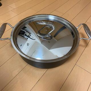 マイヤー サーキュロン 浅型両手鍋