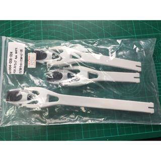 FOXブーツ コンプ5 ホワイト ストラップセット品  未使用品(モトクロス用品)