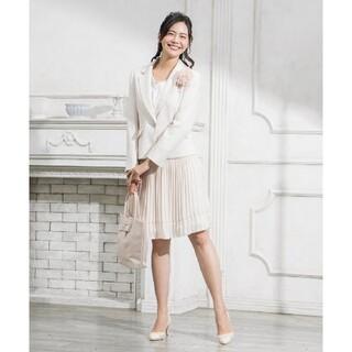 エニィスィス(anySiS)のエニィシスプリーツスカートスーツ セットアップ(スーツ)
